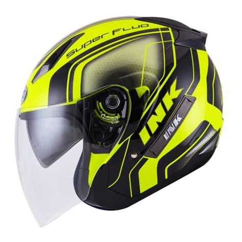 Harga Bersaing Kaca Helm Ink Centro Dan Kyt Dj Maru Galaxy Merk Clear helm ink metro 2 seri fluo edition pabrikhelm