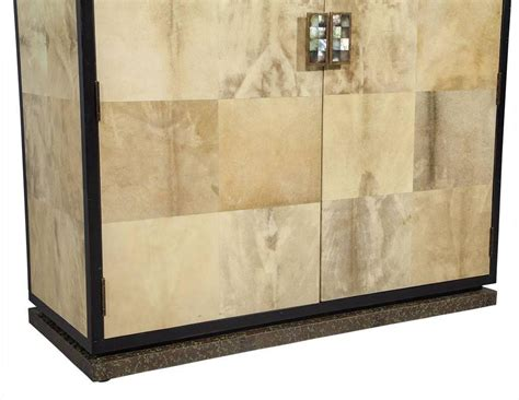 cabinet skins for sale lacquered goat skin cabinet for sale at 1stdibs