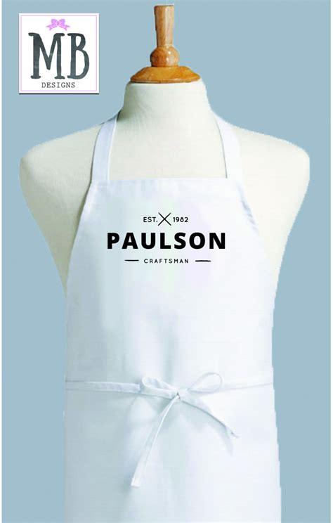 custom apron personalized apron womens apron mens apron