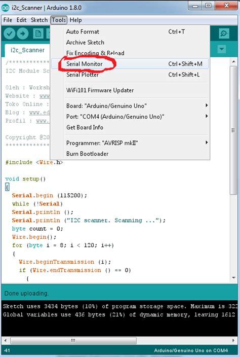 tutorial arduino uno bahasa indonesia pdf cara interface arduino uno dengan hardware i2c lcd 16x2