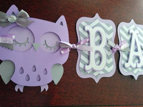 Purple Owl Baby Shower Decorations by Owl Baby Shower Banner It S A Banner Baby Banner
