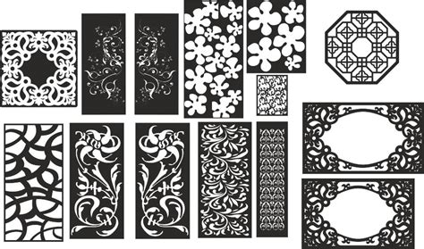floral pattern cdr abstract floral pattern vectors set coreldraw vector cdr