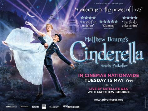 cinderella film running time cinderella matthew bourne live q a the regal cinema