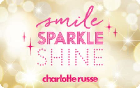 Charlotte Russe Gift Card Code - gift cards charlotte russe