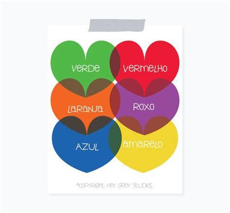 colors in portuguese portuguese colors learning portuguese