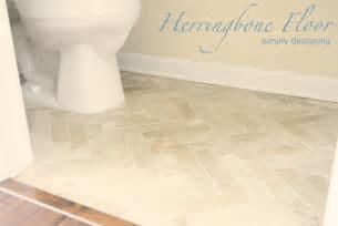Herringbone Tile Floor   How to Prep, Lay, and Install