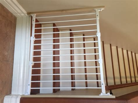 swing gates for stairs stair safety gates carlsbad baby proofing baby safe homes