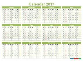 Calendar 2018 Uk With Week Numbers Printable 2017 Calendar With Week Numbers Pdf Image Word