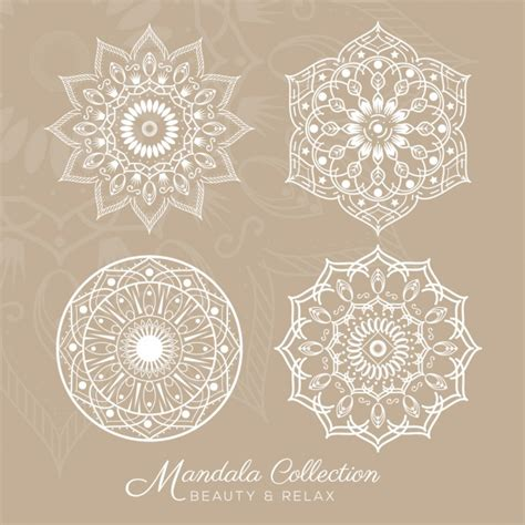 free design mandala designs collection vector free