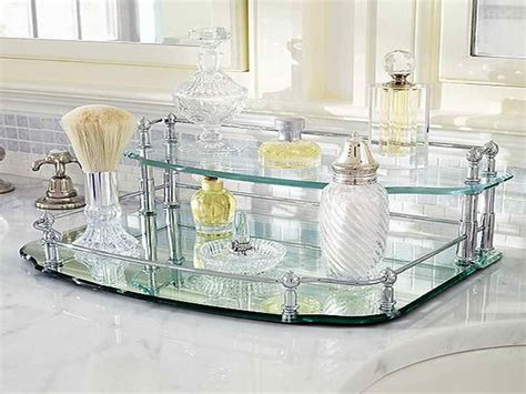 bathroom vanity tray vanity trays silver bathroom vanity tray amazoncom