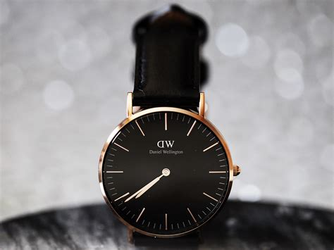 Daniel Wellington Original daniel wellington classic black nymphashion fashion