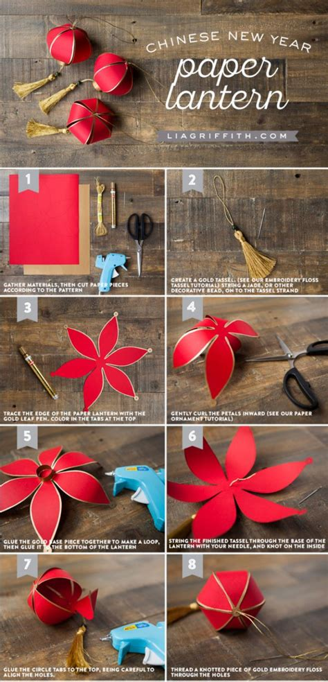 new year paper lanterns how to make new year paper lantern how to
