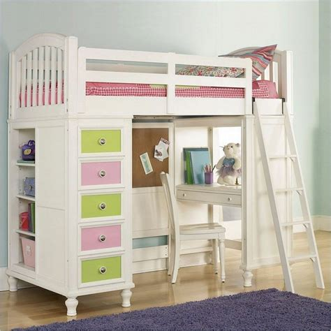 full size bunk beds for kids full size loft bed with desk study desk combined the