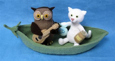 alan dart black and white cat knitting pattern the owl and the pussycat alan dart alan dart