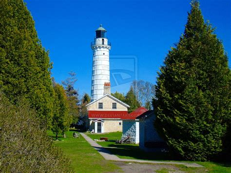 cana island lighthouse door county images