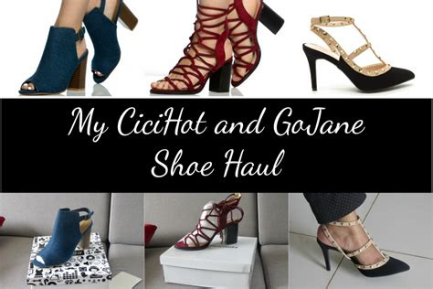 shoe haul my cicihot and gojane shoe haul you posh