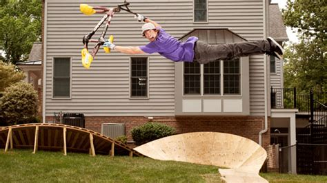 travis pastrana backyard x games 17 espn the mag preview backyard training