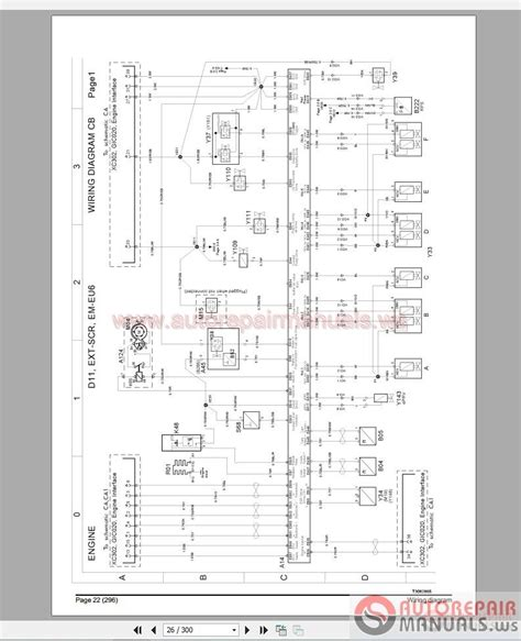 volvo truck fm4 wiring diagram auto repair manual forum