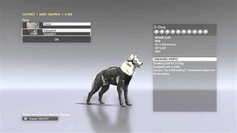 metal gear solid  phantom pain  dog dd customization