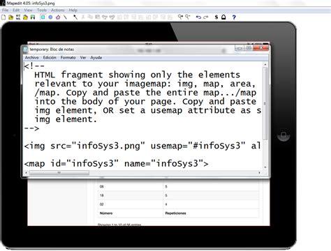 mapear imagenes html c 243 mo mapear una imagen en html con mapedit pathros