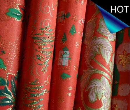 Printed Fabric Decoration polyester satin metallic printed fabric for