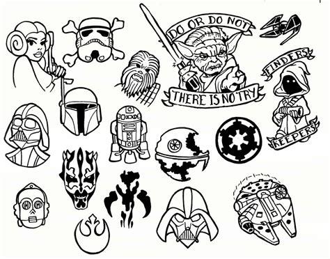 tattoo logo free food star wars tattoo flash sheet by creativeodditiesart