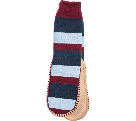 muk luks slipper socks mens muk luks slipper sock free shipping exchanges