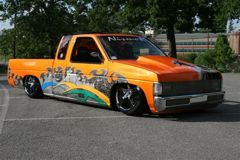 nissan hardbody lowered custom 1996 nissan hardbody custom magazine