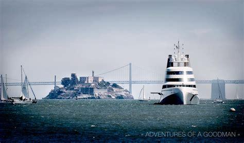 alcatraz boat ride a luxary boat ride to alcatraz prison 187 greg goodman