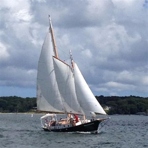 two masted boat 1989 john atkin 40 two masted schooner sail boat for sale
