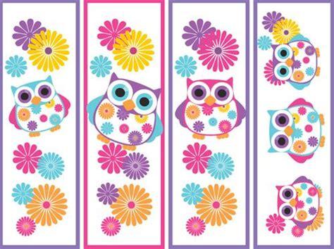 printable owl bookmarks printable owl bookmarks love owls pinterest