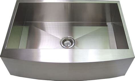 curved stainless steel sink faucets kitchens island sinks white handmade curved front kitchen sink stainless steel 30