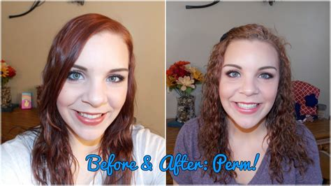 before and after of perms on thin hair before after perm youtube