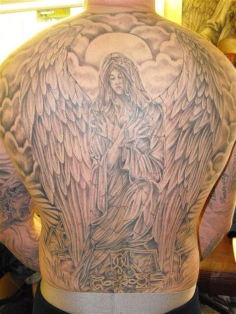 r 252 cken engel tattoo von etched in ikk