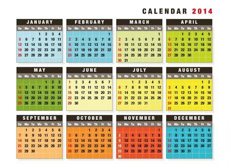 design of calendar 2014 2014 calendars multiple languages designs elsoar