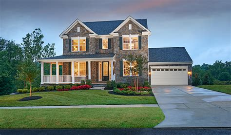 New Homes Md by New Homes In New Market Md Home Builders In Clearview At New Market