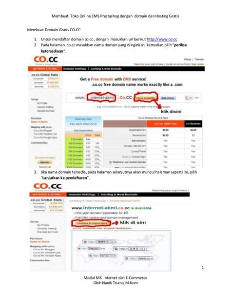 membuat toko online wordpress gratis membuat toko online gratis dengan cms prestashoop