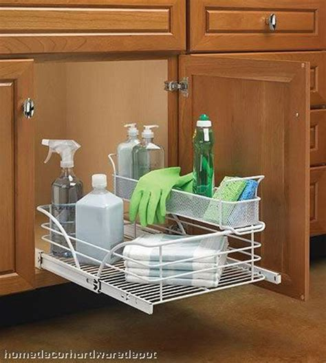 under cabinet organizers kitchen cleaning supplies cleaning supplies rack