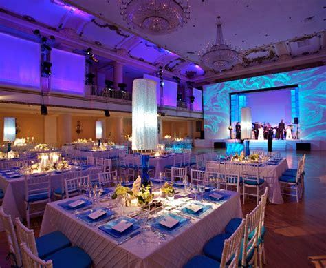 Design Event Philadelphia | ocean projections on stage surround evantine design