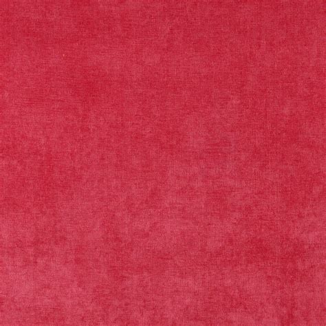Pink Upholstery Fabric by D237 Pink Solid Durable Woven Velvet Upholstery Fabric By