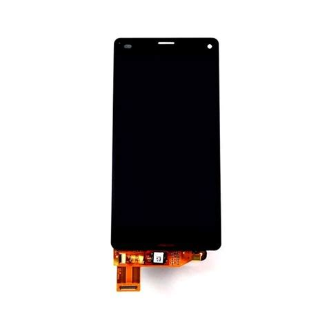 Lcd Z3 Compact lcd with touch screen for sony xperia z3 compact d5833 black by maxbhi