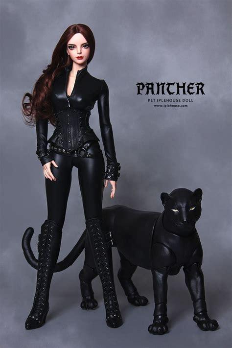 black doll meme item view pet doll panther doll play dolls