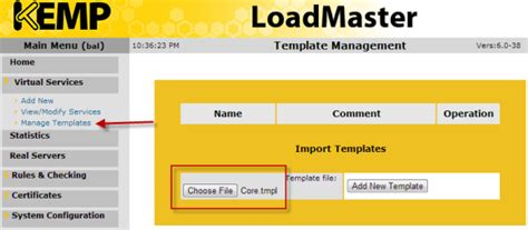 Exchange 2010 Load Balancing With The Kemp Loadmaster Vlm 100 Kemp Load Balancer Templates