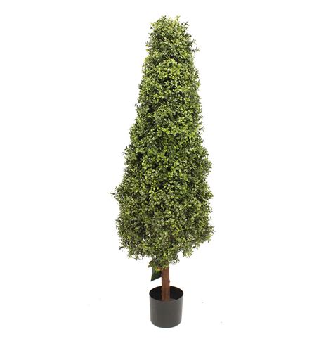 artificial tree uses artificial 5ft 150cm boxwood tower tree outdoor use blooming artificial plant ebay