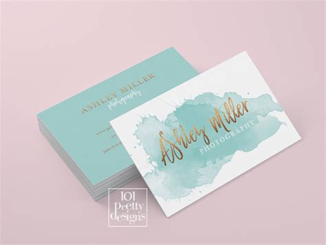 watercolor business card template free watercolor business card template gold printable business