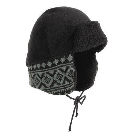 knit trapper hat screamer jacquard knit trapper hat for 2428x save 55