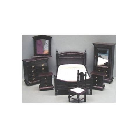 7 pc bedroom set 7 pc mahogany bedroom set dollhouse bedroom sets