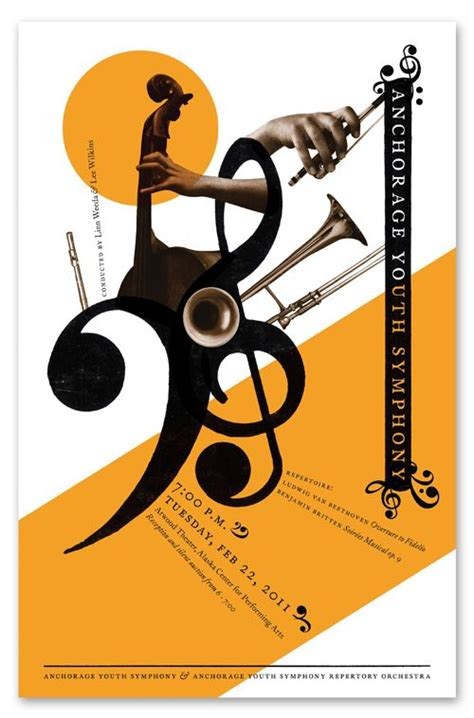 orchestra layout poster 361 best images about jazz music posters on pinterest