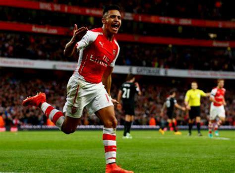 arsenal indonesia facebook alexis sanchez jadi pemain terbaik versi fans arsenal