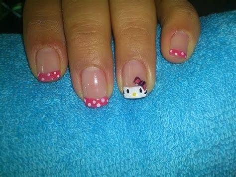 imagenes de uñas acrilicas de kitty u 241 as hello kitty youtube